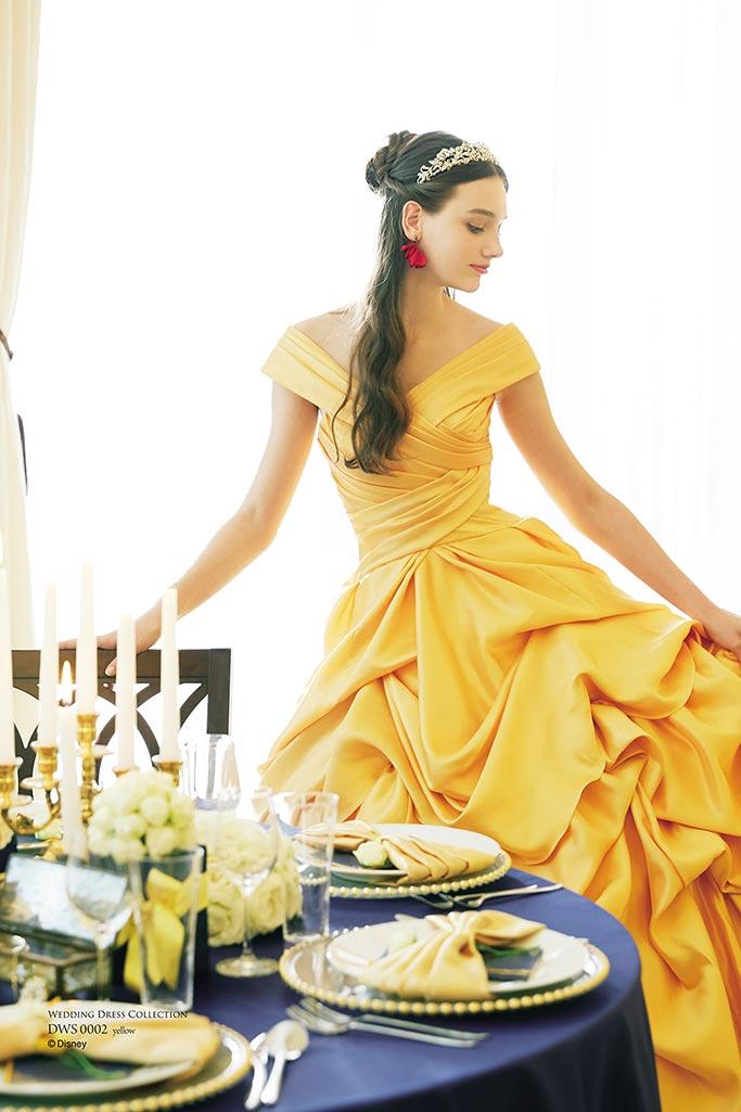 『美女と野獣』をイメージしたドレス
